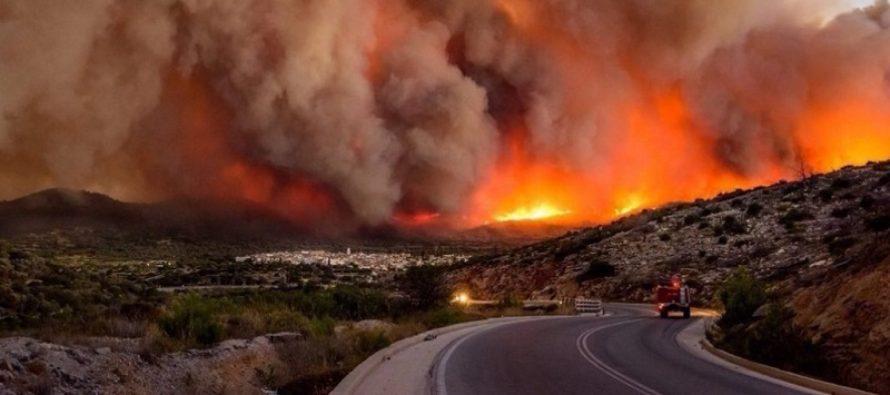 INCENDIILE DIN GRECIA, 88 DE MORTI! Departamentul de pompieri a publicat un raport cu privire la cauzele incendiilor