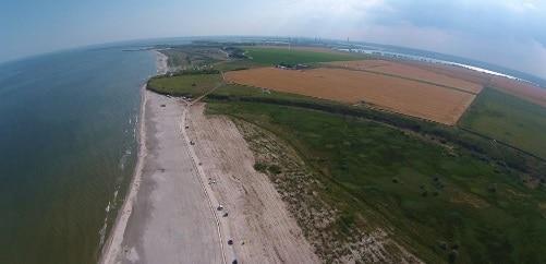 Sute de terenuri din Corbu si Vadu, jud. Constanta, rechizitionate pentru realizarea conductei care aduce gazele din Marea Neagra