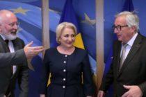 "Viorica Dancila a fugit de presa si la Bruxelles, preferand sa ofere un interviu ""de casa"" televiziunii Antena 3"
