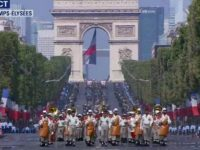 Franta isi sarbatoreste Ziua Nationala. Festivitatile de pe Champs Élysées stau sub semnul fraternitatii armelor. Tour Eiffel va fi inchis duminica, cand e finala Cupei Mondiale