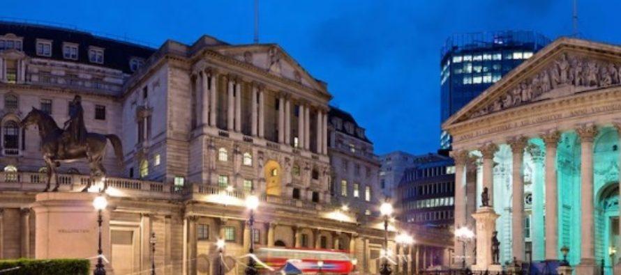 Banca Angliei a majorat rata dobanzii la cel mai inalt nivel din ultimii 9 ani, pe fondul incertitudinilor generate de Brexit