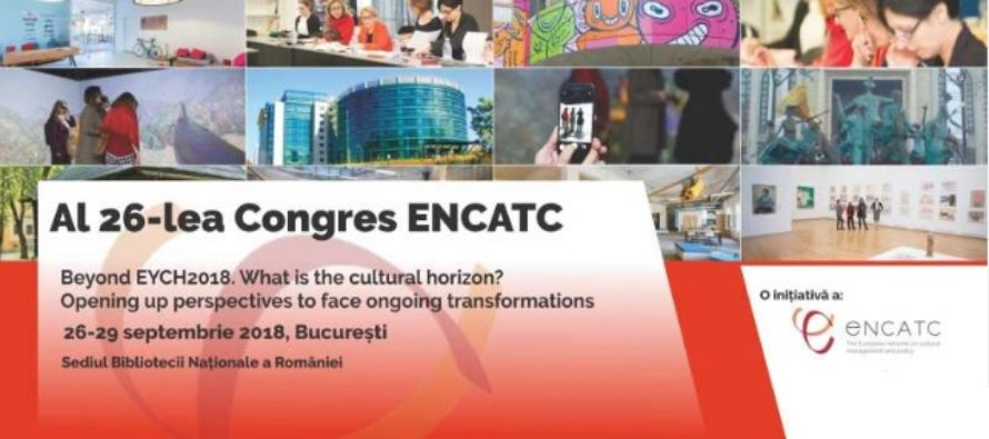 Congresul de management si politici culturale (ENCATC) are loc pana pe 29 septembrie la Bucuresti. Un punct esential va fi discursul profesorului Jean-Louis Fabiani, membru al Institute for Advanced Studies Princeton