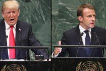 Sesiunea Adunarii Generale ONU a fost scena unui nou duel retoric intre presedintii Statelor Unite si Frantei