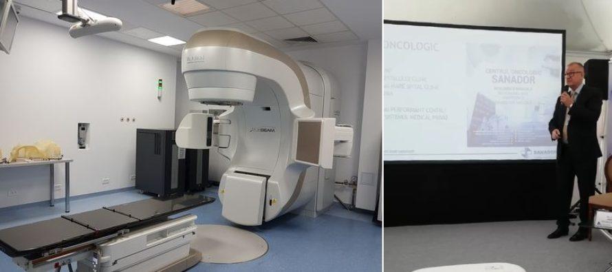 Centrul Oncologic Sanador a fost inaugurat, joi, in Bucuresti. Este singurul centru din sectorul medical privat care detine sectie dedicata pentru terapia izotopica