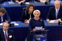 """Premierul Dancila a vorbit la Bruxelles despre """"dublul standard"""" in UE, despre """"Europa divizata"""" si despre """"criza profunda de incredere"""""""