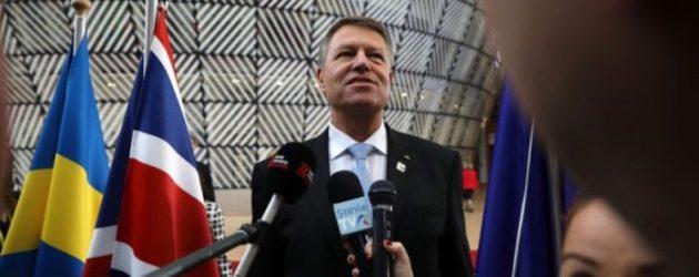Iohannis se afla la Bruxelles, unde discuta in format UE27 despre procesul de retragere a Marii Britanii, dupa ce Theresa May a solicitat oficial UE sa amane Brexitul pana la 30 iunie