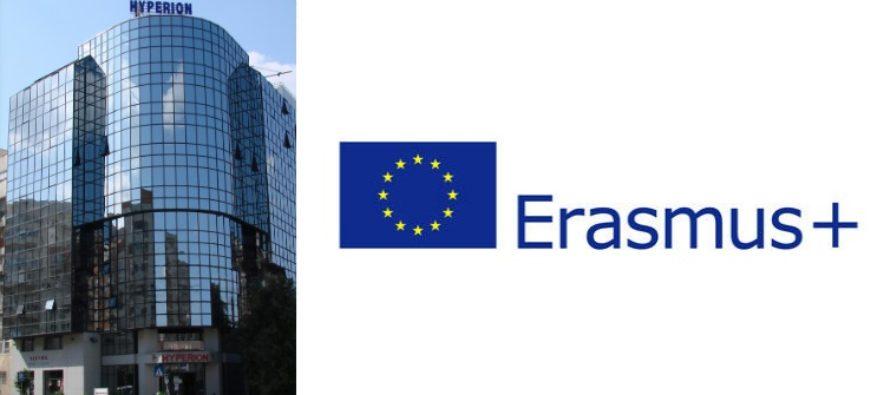 Universitatea Hyperion a obtinut Carta Erasmus pentru Invatamantul Superior, studentii urmand a beneficia de activitati finantate prin Erasmus+