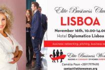 Bianca Tudor lanseaza Elite Business Club si la Lisabona, pe 16 noiembrie: Este un concept care vine ca un instrument de business development pentru antreprenori si companii