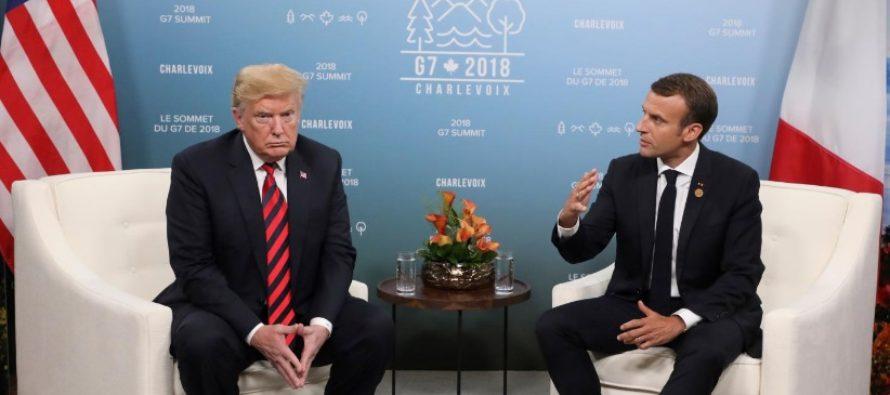 Presedintele Frantei la Forumul pentru Pace: Suntem fragilizati de revenirea pasiunilor triste: nationalismul, rasismul, antisemitismul si extremismul