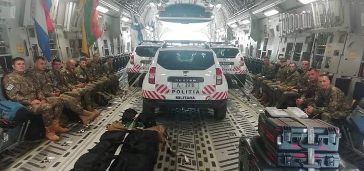Militari romani, prezenti la cel mai important exercitiu organizat de NATO in acest an
