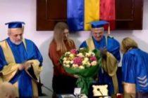 Simona Halep a primit titlul de ambasador onorific al Universitatii Ovidius din Constanta: Aveti incredere in vise si nu cedati niciodata