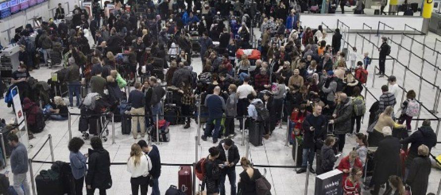 Zboruri reluate partial pe Aeroportul Gatwick, dupa ce o drona a intrat in zona de siguranta si a blocat traficul aerian inca de miercuri