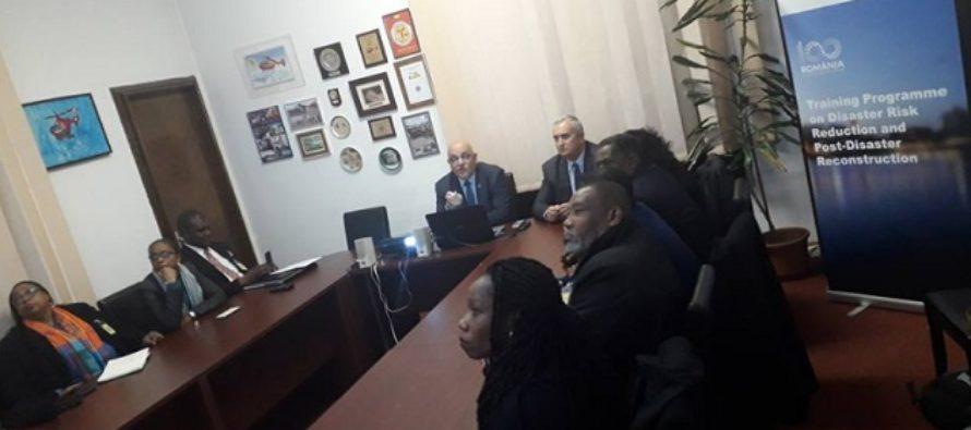 O delegatie specializata in protectie civila si situatii de urgenta din zona Caraibelor se afla intr-o vizita de documentare in Romania