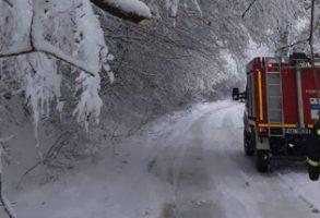 Ninsori in Romania. Informare de la Departamentul pentru Situatii de Urgenta privind misiunile aflate in desfasurare