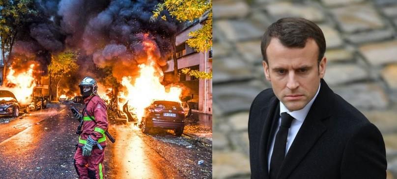 Parisul, asediat. Guvernul ar putea decreta stare de urgenta, Macron a convocat o reuniune de urgenta la Palatul Elysée