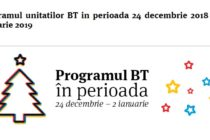PROGRAM BANCI CRACIUN 2018 SI REVELION 2019. Program Banca Transilvania pe 24, 25, 31 decembrie, 1 si 2 ianuarie 2019
