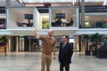 Station F din Paris, cel mai mare incubator de afaceri din Europa. Francezii aduna aici talente din toata Europa si nu numai, conectand startup-urile cu investitorii