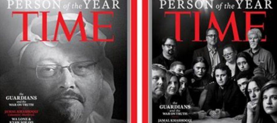 Revista Time a desemnat personalitatea anului 2018