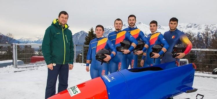 Echipa de bob Romania - masculin