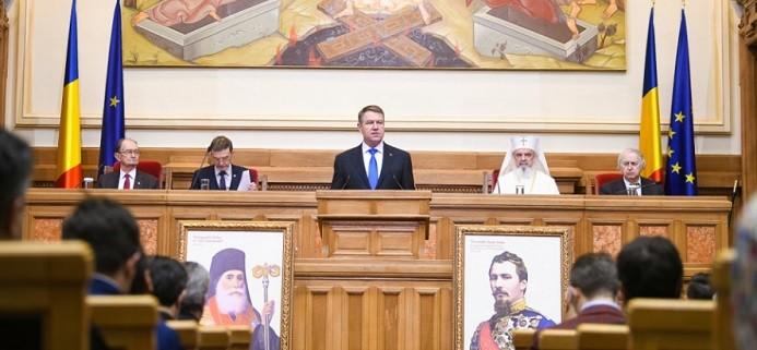 Presedintele Iohannis, la 160 de ani de la Unirea Principatelor: Sa dam la o parte populismul si sa ne reintoarcem la prioritatile oamenilor, asa cum le-a urmarit Alexandru Ioan Cuza