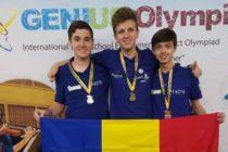 Elevii de la Liceul de Informatica din Bucuresti au castigat medalia de aur la categoria robotica in cadrul Olimpiadei Genius de la New York