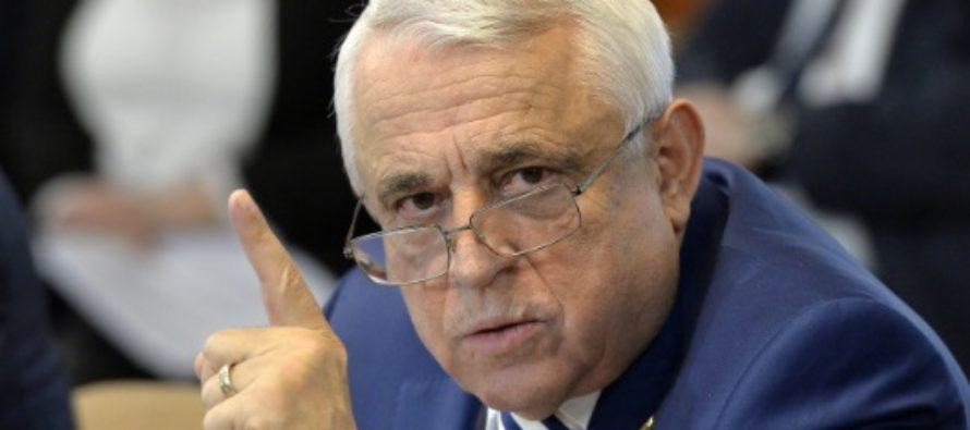 Petre Daea, in Parlamentul European: Cormoranii in Romania fac baie in piscine. Nu se mai feresc de oameni, de pescari nici atat