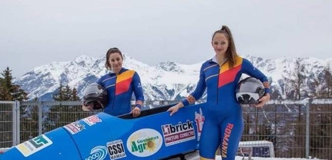 Andreea Grecu si Teodora Andreea Vlad, vicecampioane mondiale la bob-2