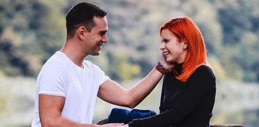FRUCTUL OPRIT. Vlad Gherman si Cristina Ciobanasu, indragitii actori din serialul difuzat de Antena 1, formeaza unul dintre cele mai indragite cupluri din showbiz