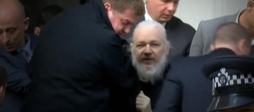Julian Asange, fondatorului WikiLeaks, a fost arestat la Londra, dupa ce fost scos cu forta din Ambasada Ecuadorului. Theresa May: Nimeni nu e mai presus de lege!