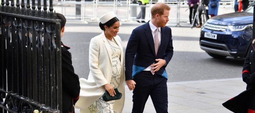 Meghan Markle a nascut un baiat! Printul Harry a asistat la nasterea celui de-al optulea stranepot al reginei Marii Britanii