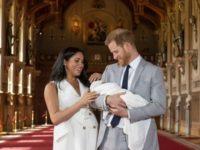 A fost anuntat numele noului bebelus regal al Marii Britanii, fiul ducesei Meghan de Sussex si al printului Harry
