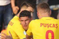 Tricolorii mici au scris o noua fila de istorie in fotbal. Romania U21 a invins Anglia cu 4-2 si are sanse mari sa se califice in semifinale