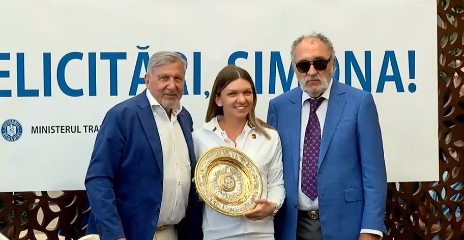 Simona Halep s-a intors in Romania dupa ce a castigat finala de la Wimbledon: Va multumesc! De fiecare data ma intorc cu drag in Romania si acasa la mine