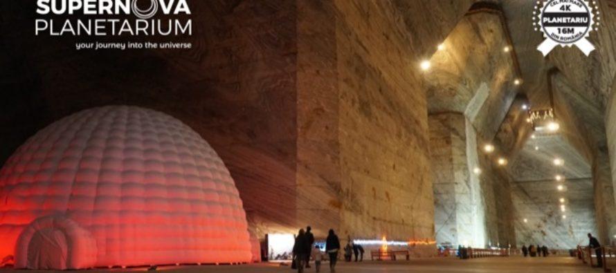 Cel mai mare planetariu din Romania s-a inaugurat in Salina Slanic Prahova
