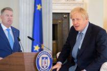 Ce a discutat Iohannis cu Boris Johnson. Relatia bilaterala a Romaniei cu Marea Britanie ar putea intra pe linia politicii SUA