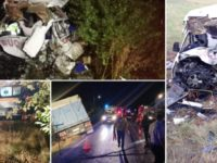 Accident dramatic in Ialomita, dupa ce un TIR a spulberat un microbuz: 10 morti si 7 raniti