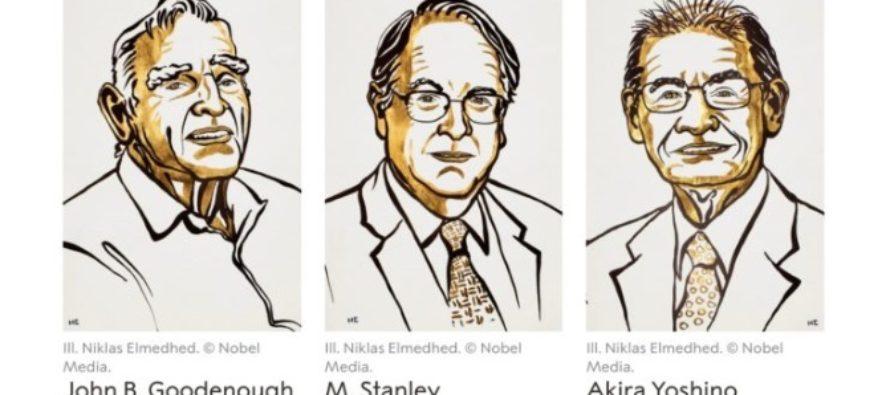 Premiul Nobel pentru Chimie 2019 a fost acordat unei echipe de cercetatori pentru dezvoltarea bateriilor pe baza de litiu-ion