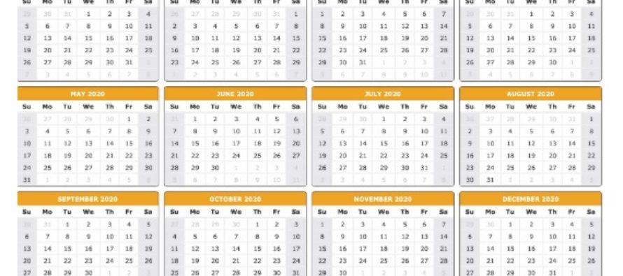 Calendar zile libere in 2020 – Vezi cand pica Pastele si Craciunul in 2020