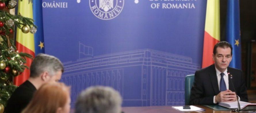 Guvernul Orban isi va angaja raspunderea pe legea bugetului pe 2020, pe legea bugetului asigurarilor sociale si pe OUG 114