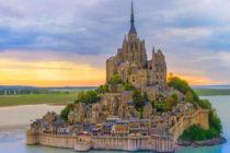 Mont Saint-Michel din Franta, o insula magica desprinsa din visul Arhanghelului Mihail