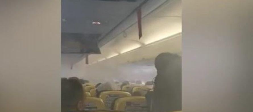Probleme cu un avion Ryanair care plecase de la Bucuresti cu destinatia Londra