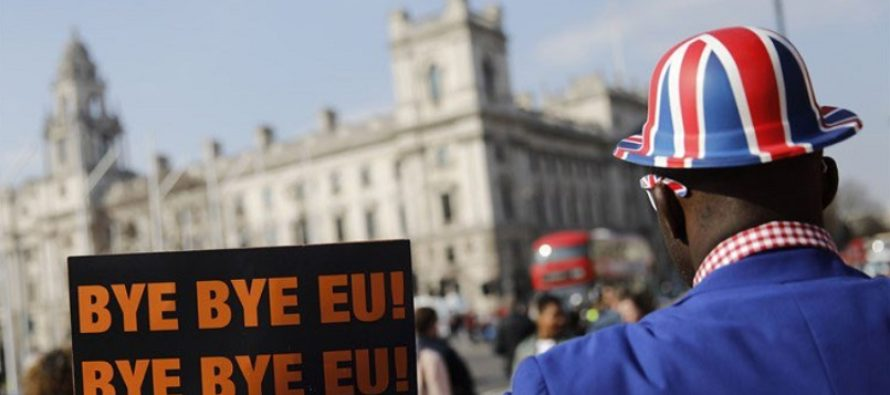 Marea Britanie, marea despartire de UE! Intre veselie si tristete, Londra ramane o capitala europeana doar pe harta
