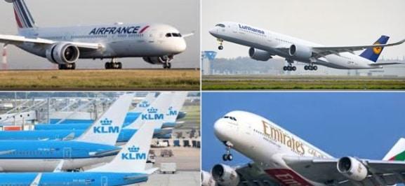 Mai multe companii aeriene si-au suspendat zborurile in Iraq si Iran