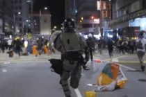 Manifestantii din Hong Kong au atacat o cladire care urma sa fie transformata in centru de carantina pentru persoanele infectate cu noul coronavirus 2019-nCoV