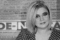 Cristina Topescu va fi incinerata. Raportul preliminar arata ca jurnalista ar fi decedat in noaptea de Revelion
