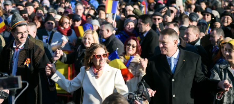 Iohannis, apostrofat la Iasi de ziua Unirii Principatelor pentru amanarea proiectului Autostrazii A8 Iasi – Targu Mures