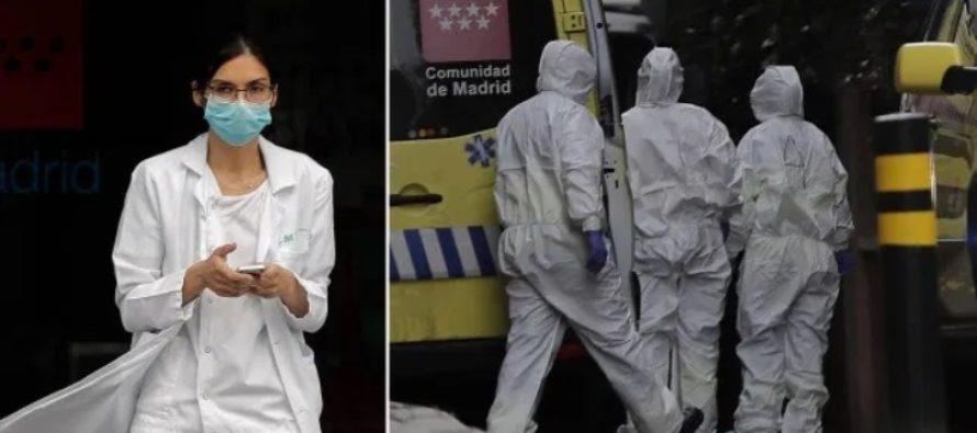 Spania: 514 decese in numai 24 de ore, totalul cazurilor a ajuns la aproape 40.000