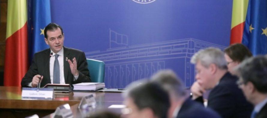 Ludovic Orban si conducerea PNL, in carantina cu suspiciune de coronavirus. Premierul se afla autoizolat la Vila Lac 1