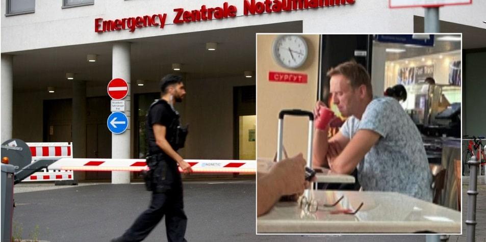 Alexei Navalny a fost transportat la un spital din Germania pentru a primi tratament