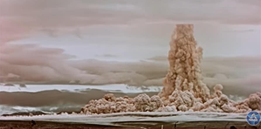 Imagini in premiera de la cea mai mare explozie nucleara produsa vreodata de om